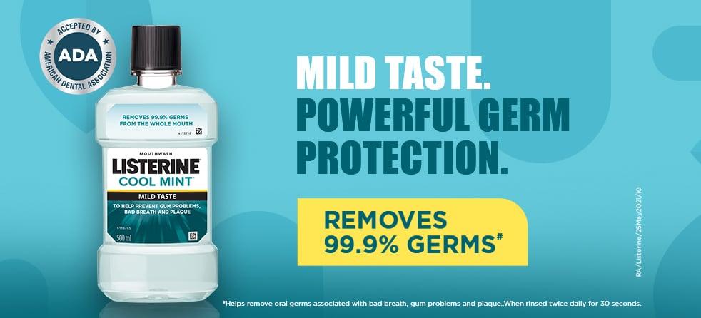 Listerine Cool Mint Mild Mouthwash