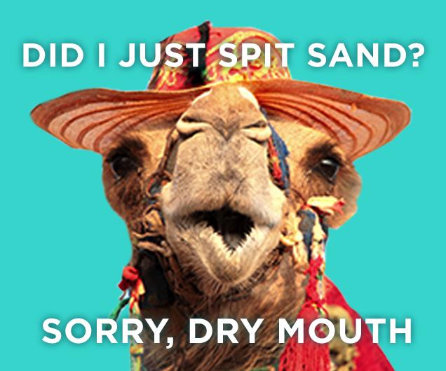 Dry Mouth Meme
